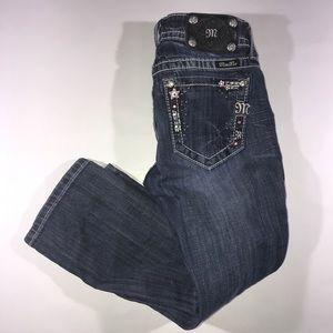 Miss Me jp5843p cuffed Capri denim jeans